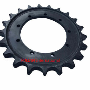 New Mini Excavator Undercarriage Part Sprocket For Hitachi Zx27u