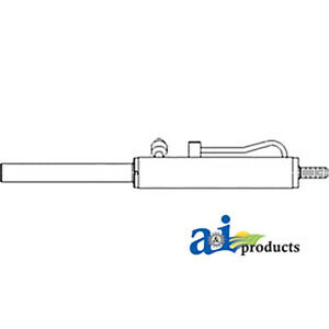 Power Steering Cylinder E9nn3a540bc Fits Ford Tractors 5640 6640 7740 7840 Ts110