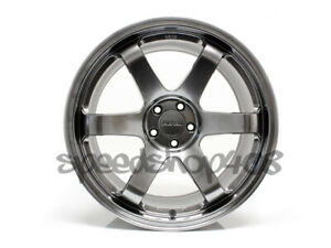 Rota Grid Wheels Hyperblack 18x9 5 38 5x100 For Scion Tc 05 10 Subaru Wrx 02 14