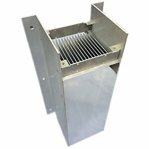 16 Inch Heatsinks Aluminum High Power Bonded Fin Sink Assembly For Natural Air