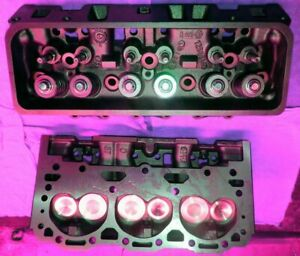 2 Gm Chevy 43 V6 262 Cylinder Heads Cast140 Amp 772 Only Vortec 96 01 No Core