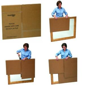 Bankers Box Smoothmove Moving Boxes For Tvs Pictures And Mirrors Adjustable 40