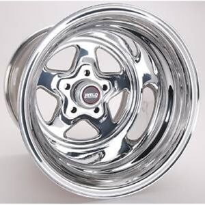 Weld Racing 96 515210 Pro Star Polished Wheel 15x15 5x4 5 Bc 5 5 Bs