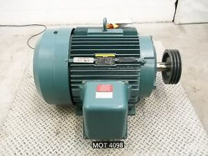 New Other Baldor 60 Hp A36 1299 1207 364t Frame 3 Phase Electric Motor mot4098