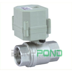 Dc24v cr3 01 Electrical Valve Bsp 1 Motorized Ball Valve stainless Steel 2 way