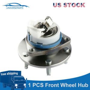Front Wheel Hub Bearing Assembly For Chevy Buick Cadillac 5 Lug W Abs 513121 New