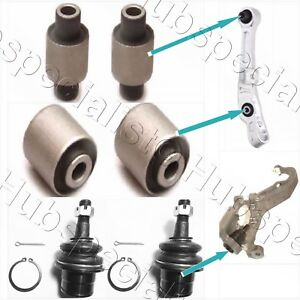 Front Lower Control Arm Bushing Ball Joint For 2003 2007 Infiniti G35 Kit 6