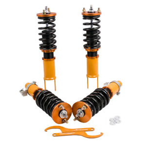 Tuning Coilovers Lowering Kits For Honda Civic Ek Ej Em Height Adjustable 96 00
