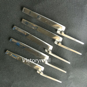 5pc Dental Articulating Paper Holder Articulating Paper Holding Forceps Straight