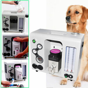 Veterinary Vet Anesthesia Machine With Halothane To Animal Build in Co2 Absorber