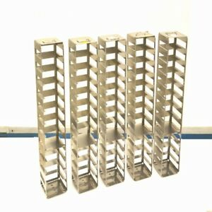 5 Cryogenic Stainless Steel Freezer Storage 1 shelf Racks 26 X 5 5 X 5 5