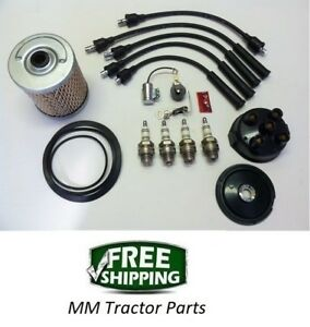 Ignition Tune Up Maintenance Kit Ferguson To20 To30 To35 F40 Mh50 Tractor