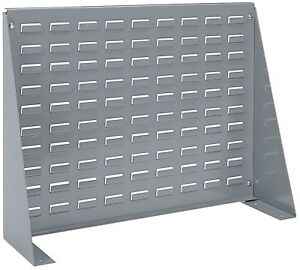 Akro mils 98600 Louvered Steel Panel Bench Rack For Mounting Akro Bins