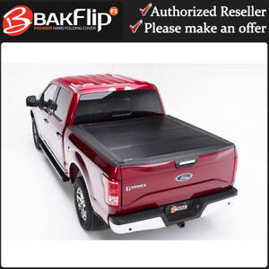 Bakflip F1 Premium Tonneau Cover 772329 For 2015 2019 Ford F 150 5 6 Short Bed