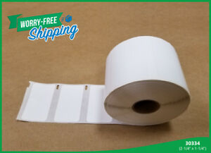 30334 Dymo Compatible 18 Rolls Paypal White Large Shipping 1000 Labels Per Roll