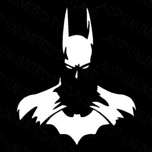 Dark Knight Batman Dc Vinyl Decal Car Truck Window Sticker Silhouette Laptop