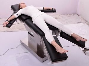 C arm Compatible Ot Table With Zero Position And Electric Floor Locking System