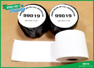 Dymo Compatible 99019 Large Labelwriters Address Thermal Labels 4xl 30 Rolls