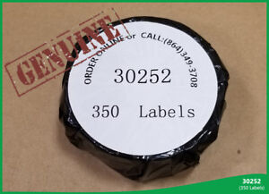 Dymo Labelwriters 30 Rolls Of Thermal Print 30252 350 Address Labels