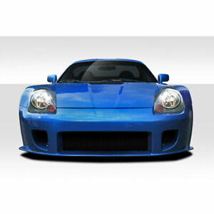 Mr2 Spyder Td3000 Wide Body Front Bumper Cover 1 Piece Fits Toyota Mrs 00 0