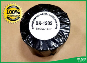 Dkl 1202 Brother Compatible Labels Ql 700 One Reusable Cartridge 30 Rolls