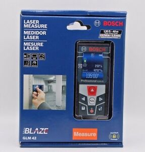 Bosch Glm 42 Laser Measure New Factory Sealed