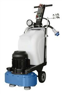 Concrete Floor Grinder For Terrazzo Marble Granite 7 5 Hp Motor 2 Heads
