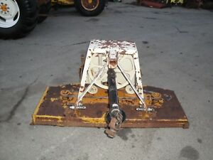 Good Used Woods Rm59 5 Ft 3 Point Hitch Finish Mower