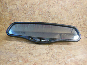 2000 2001 Maxima Rear View Mirror Auto Dim W O Compass Or Temp Donnelly 015306