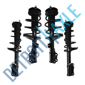 Front Rear Strut Coil Spring Assembly For 2002 2003 Lexus Es300 Toyota Camry