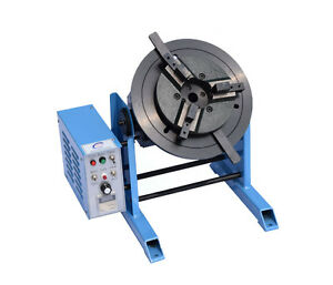 100kg Duty Welding Positioner Turntable Timing With 300mm Chuck Us Ca 110v Y