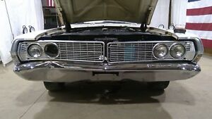 68 Ford Galaxie 500 Chrome Front Bumper Assembly