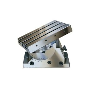 R hm Rohm High Precision T slot Angle Plate Tilt Rotate Milling Boring Grinding