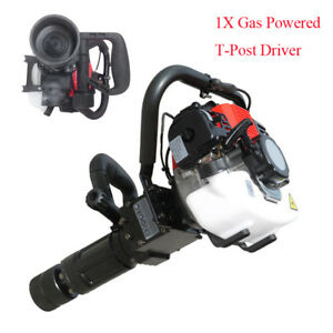 Professional 35cc Gas Powered T post Driver Gas Engine 2stroke Fence Post Driver