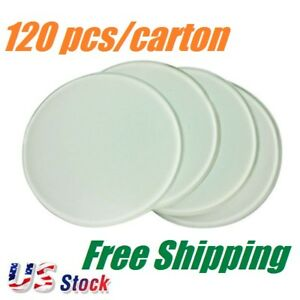 Us Stock Diameter 3 9 Round Sublimation Blank Glass Coaster Heat Transfer
