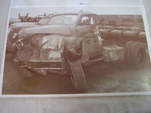 1941 1948 Studebaker Co Truck Wreck Or Crash Test 11 X 17 Photo Picture