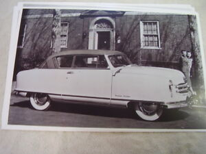 1951 Nash Rambler Country Club 2dr Hardtop 11 X 17 Photo Picture