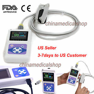 Handheld Oled Pulse Oximeter Heart Rate Monitor Spo2 Oxygen Saturation software