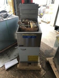 Pitco 40c 40s Commercial 40lb Gas Fryer Frialator