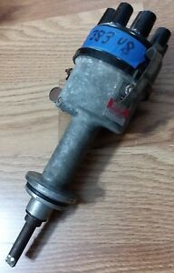 161 Original Used 70s Mopar Mallory Ignition Dual Point Distributor 2557701