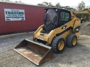 2013 Caterpillar 246c Skid Steer Loader W cab