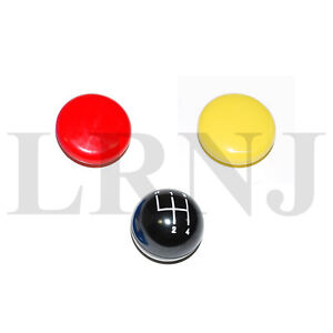 Land Rover Series 3 Replacement Main Gear Lever Knob 4 Speed Set Of 3