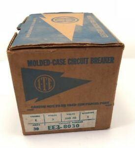 Ite Ee3b030 30 Amp 240v 3 Pole Bolt On New In Box