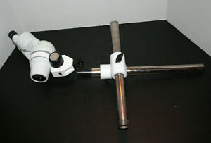 Scienscope Stereozoom Microscope 7 40x On Boom Stand