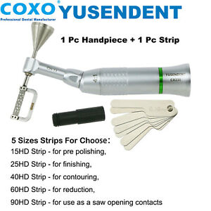 Coxo Dental 4 1 Contra Angle Handpiece Interproximal Eva Ipr 1pc Striping Bur