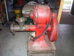 Vintage Hobart Meat Grinder 1 2 Hp 110 Single Phase Speed 1750 Deer Hunting