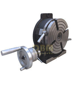New 10 Precision Horizontal Vertical Hv Rotary Table Vise Milling Drilling Vice
