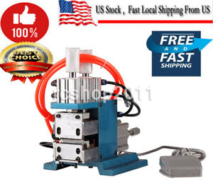 Pneumatic Vertical Wire Cable Stripper Striping Machine Scrap Metal Recycle Tool