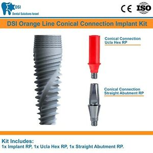 Dsi Dental Implant Conical Connection Nobel Active Abutment Ucla Rp Ce