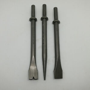 Air Hammer Punch And Chisel Set 3pc Set